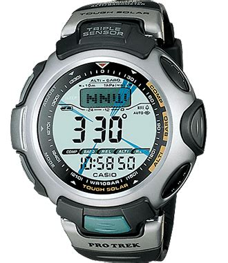 Casio Protrek Prg50 history pro trek mens watches casio