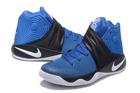 Nike Kyrie Irving 2 White Blue nike kyrie ii 2 irving brotherhood white royal blue black