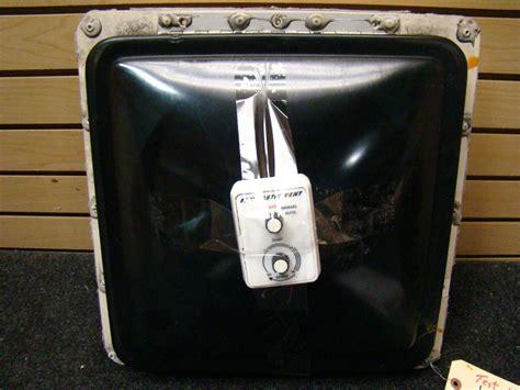 rv fantastic fan vent cover rv accessories used rv motorhome black fantastic fan vent