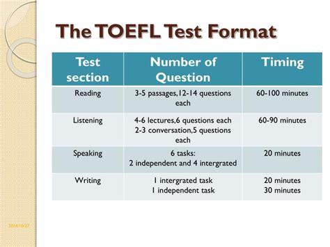 Toefl Test by Ppt Toefl Toeic Powerpoint Presentation Id 5906654
