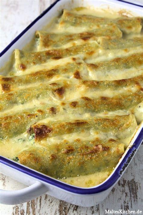 Leckere Rezepte Mit Gemüse 3311 by Die Besten 25 Cannelloni Rezepte Ideen Auf
