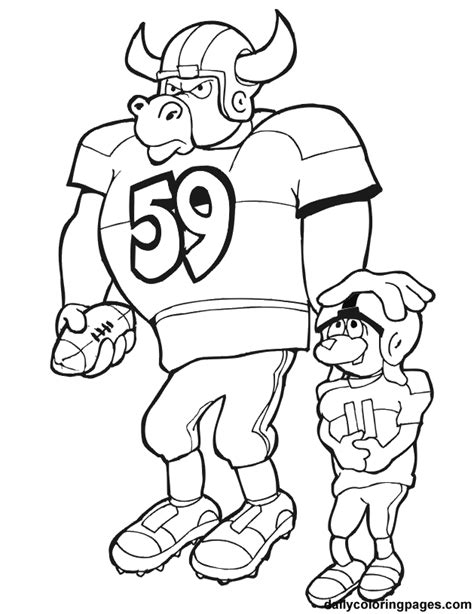 printable coloring pages nfl nfl coloring pages coloring home