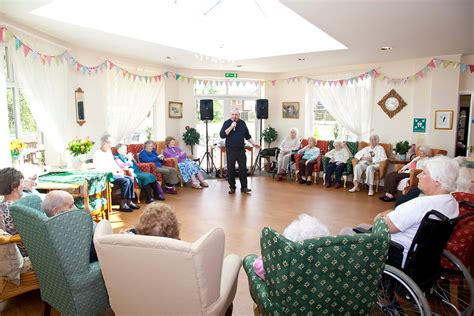 new year activities for nursing homes starmount residential care home events activites