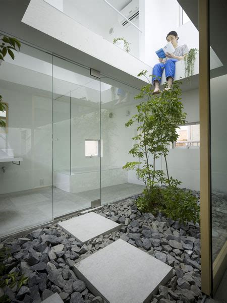 Garden Inside House | amazing house design in japan a garden inside the house