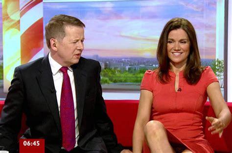 kara killmer diet bbc mocks susanna reid for flashing her knickers live on
