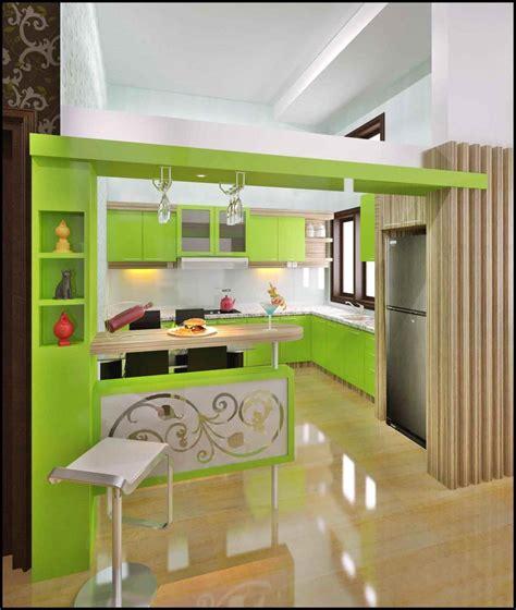 desain dapur menyatu dengan ruang tamu 50 contoh desain dapur mungil minimalis sederhana