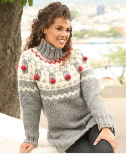 Sweater Knitting Patterns Knitting Patterns And Reindeer