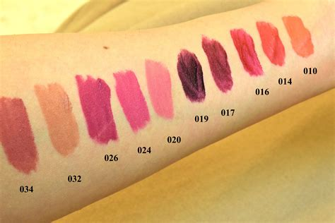 The Shop Lip Matte the shop matte lip liquid swatches glamzeit