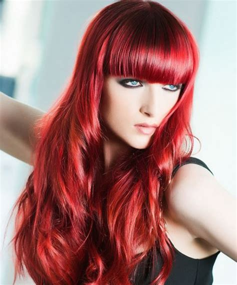 best red colors best red hair dye for dark hair brown hair bright shades