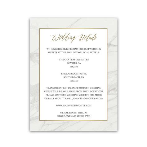 wedding hotel accommodation card template free hotel accommodation card archives uniqu on details card