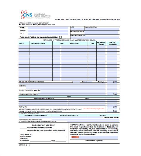 format invoice travel travel invoice template 12 free sle exle format