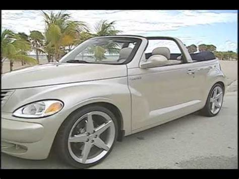 Pt Cruiser Manufacturer by Chrysler Pt Cruiser Convertible