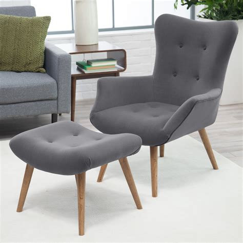mid century modern living room chairs belham living matthias mid century modern chair and