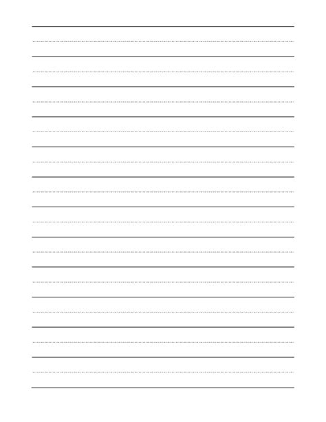 handwriting templates handwriting sheets for grade blank free