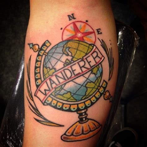 wanderlust travel tattoos tattoo com