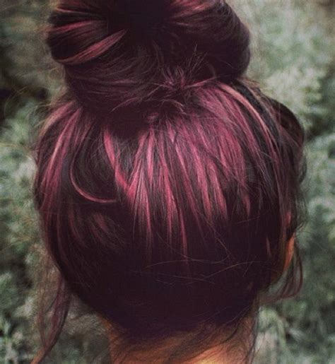 plum hair color plum colored hair