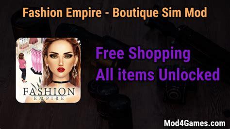 game mod free shopping fashion empire boutique sim archives mod4games com