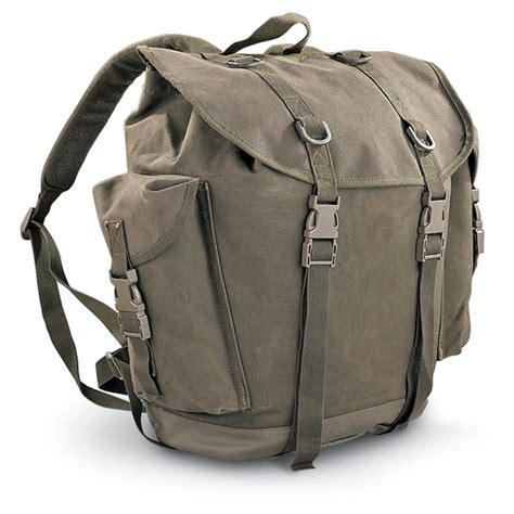 german mountain 2 used german mountain rucksack o d 115554 rucksacks backpacks at sportsman s guide