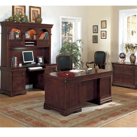 Dallas Office Furniture Executive Desk Set Small Home Office Desk Set