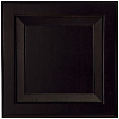 Black Kitchen Cabinet Doors American Woodmark 14 1 2x14 9 16 In Cabinet Door Sle In Charlottesville Maple Espresso 99847