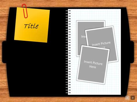 dear diary interactive powerpoint template smackslide