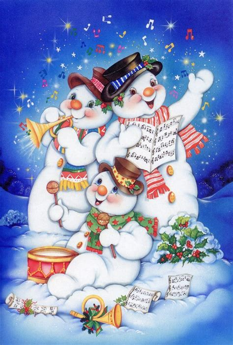 snowman pics images  pinterest vintage christmas cards christmas