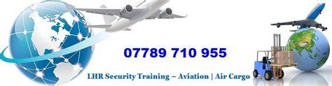 air cargo security courses in heathrow