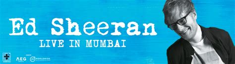 ed sheeran november 2017 ed sheeran concert 2017 live in mumbai tickets bookmyshow
