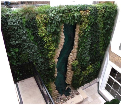 The Block Vertical Garden These Vertical Gardens Up Living Spaces And Oxygen