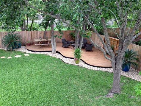 Pretty Backyard Ideas by Beautiful Backyard Landscaping Ideas On A Budget 31