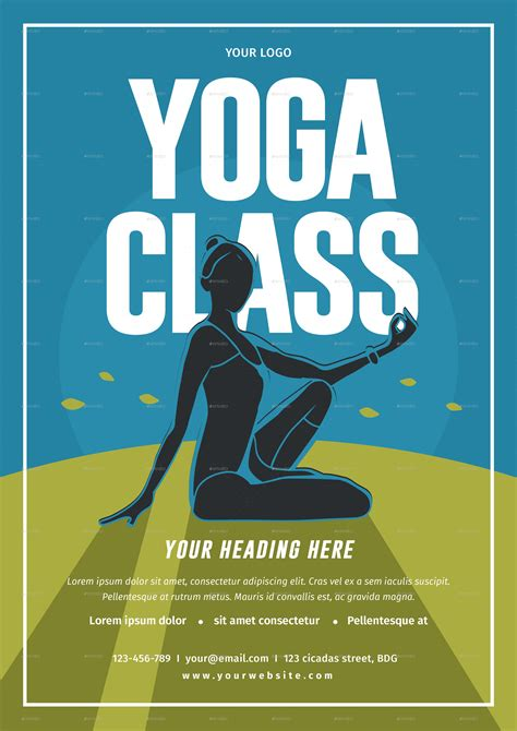 flyer template yoga yoga class flyer by lilynthesweetpea graphicriver
