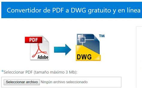convertidor imagenes a pdf online cadsofttools lanza conversor online gratuito de pdf a dwg