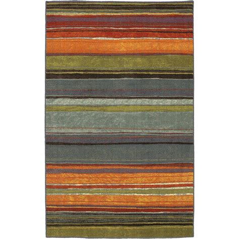 home accent rugs mohawk home rainbow multi 1 ft 8 in x 2 ft 10 in