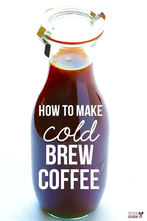 How To Make Cold Brew Coffee At Home by As 25 Melhores Ideias De Cold Brewed Coffee No