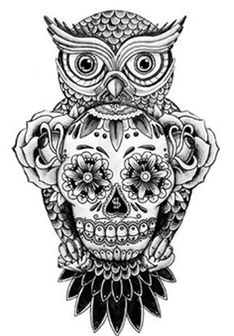50 owl and skull tattoo ideas for your first ink candy