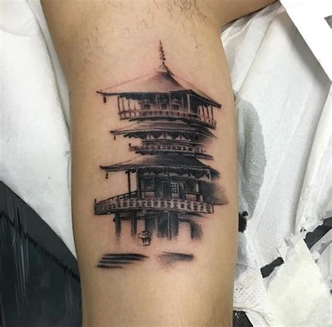 chinese temple tattoo designs collection of 25 buddhist temple