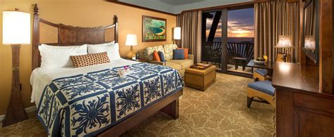 what are rooms standard hotel rooms aulani hawaii resort spa