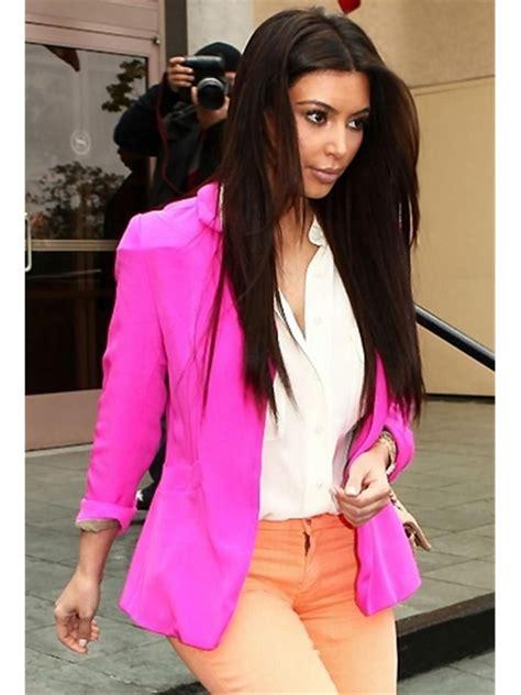 color blazers blazer fushia