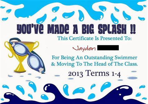 blank certificates swimming award certificate 21 best images about scouts on pinterest