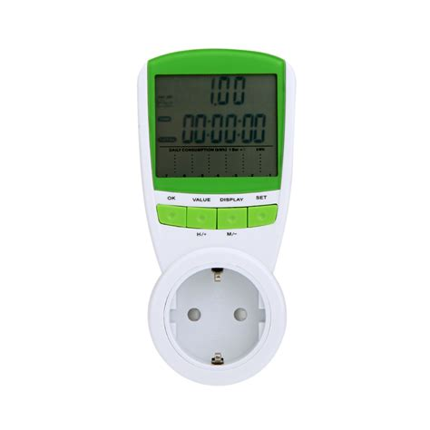 power energy meter eu digital power meter 230v 50hz