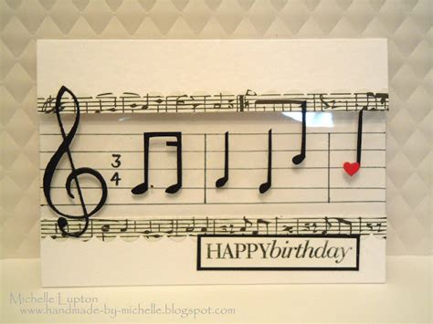 Handmade Songs By - handmade by musical happy birthday