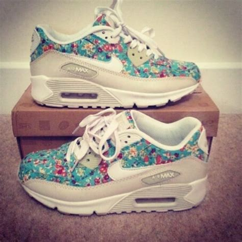 Airmax Flowers shoes floral nikes air max nike running shoes nike