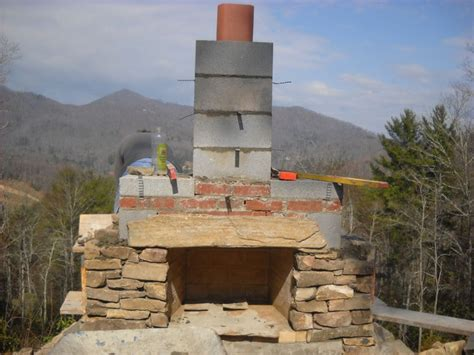 building outdoor fireplace how to build an outdoor stone fireplace step by step