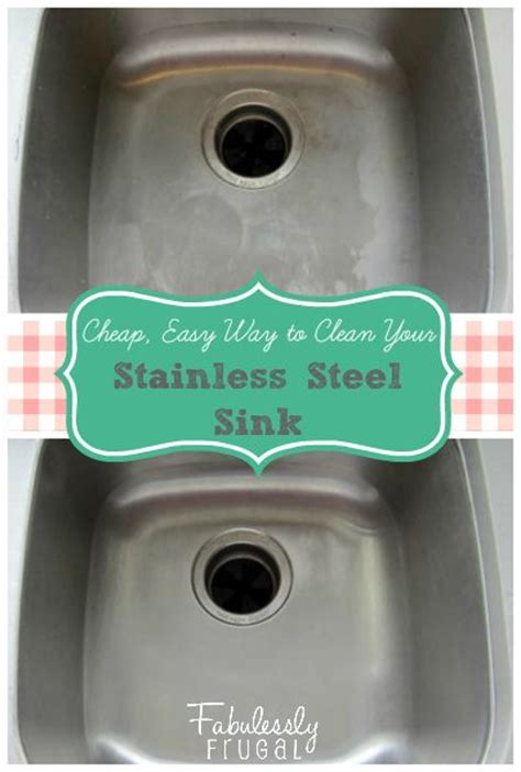 How To Clean Stains From Stainless Steel Sink by How To Clean Stainless Steel Sink Stains Fabulessly