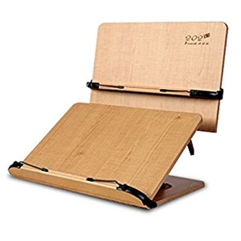 portable wood book holder stand book reading