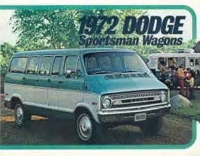 1972 Dodge Sportsman 1972 Dodge Sportsman Wagon Brochure My4024 Ebay