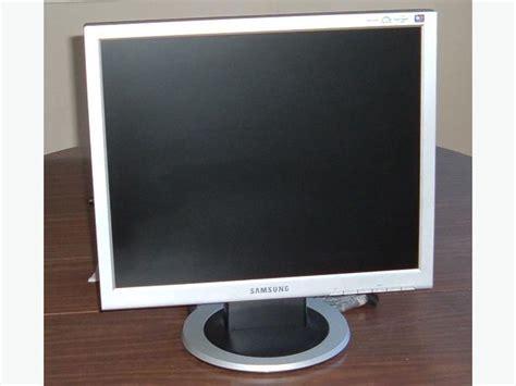 Monitor Samsung 19 samsung 913t lcd monitor 19 quot 4 3 format vga and dvi output esquimalt view royal