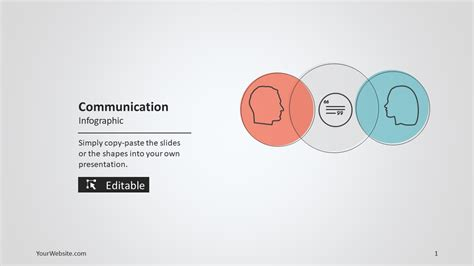 communication ppt themes free download communication powerpoint infographic slide ocean