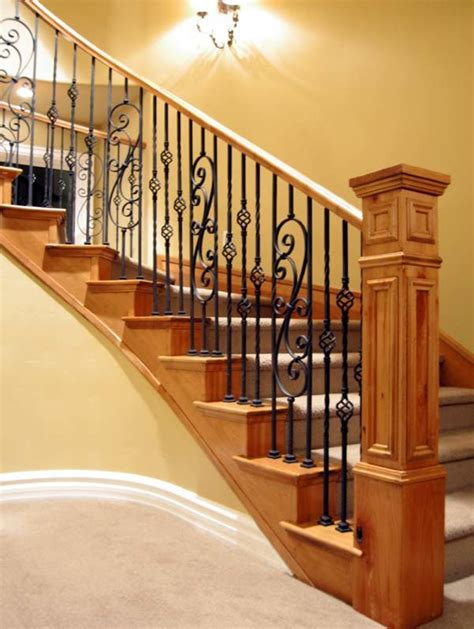 wrought iron banister spindles astounding wrought iron spindles decorating ideas