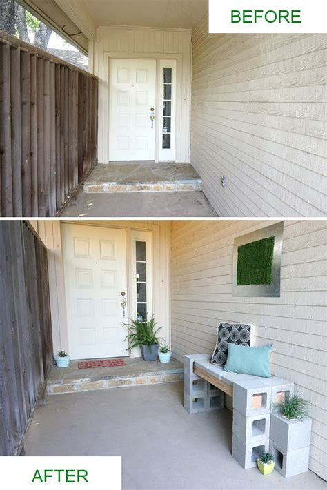 Front Porch Makeover Before And After front porch makeover before and after photos
